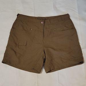 McKinley dark brown Hay shorts